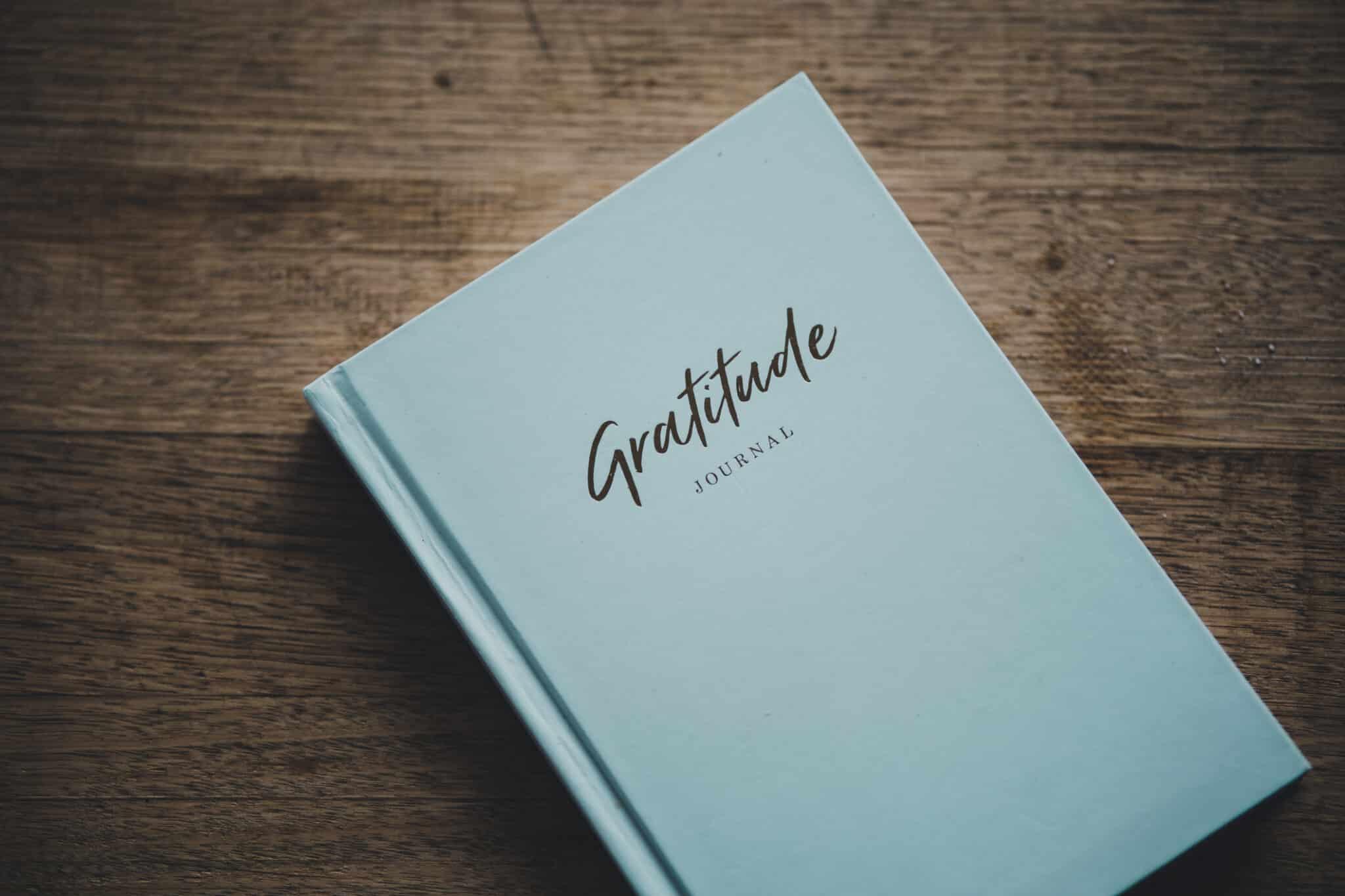 Blue Gratitude Journal