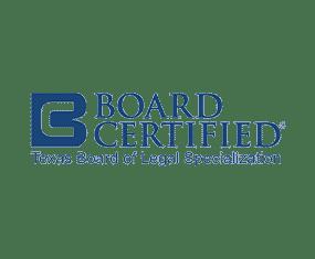 Texas Board of Legal Specialization logo